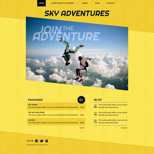 Ready   Air Sports Website Template Free Website Templates lgcVyXCT