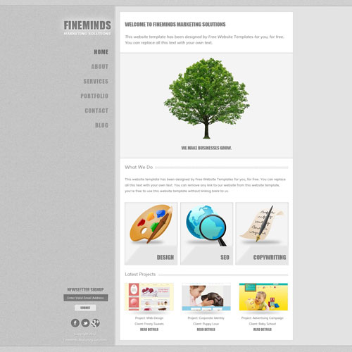 marketing templates free download