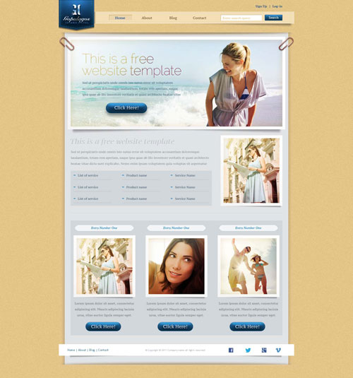 18 Fashion Model Agency Website Templates Free Free Templates Download
