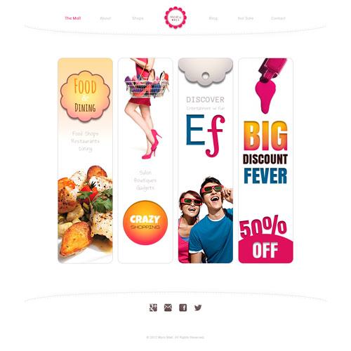 Online shopping website create