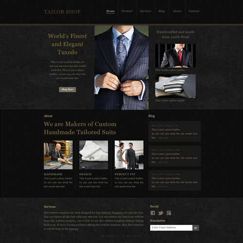Web Design Sub Pages
