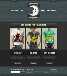 Custom Shirt Web Template