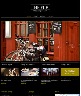 Pub Website