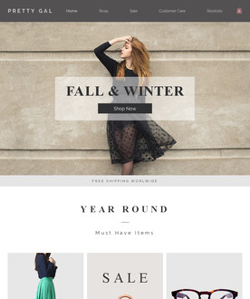 Women's Fashion Template