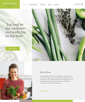 Dietitian Website