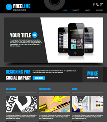 Web Design Studio Template