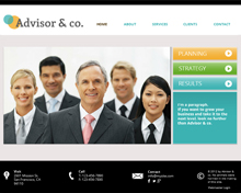 Advisor Company Template