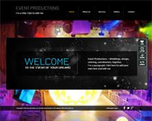 Event Production Template