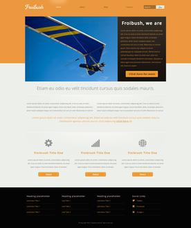 Adventure Website Template