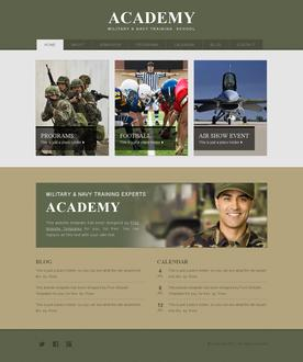 Army Academy Template