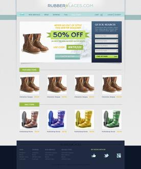 Boots Website Template