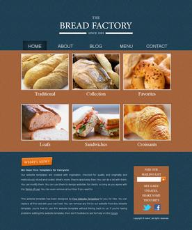 Bread Factory Template
