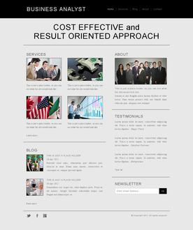 Business Analyst Template