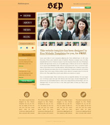 Business News Web Template