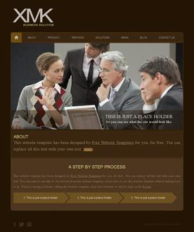 Business Solution Web Template