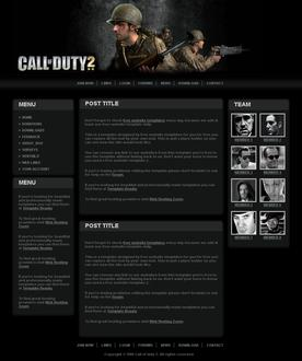 Call of duty 2 template