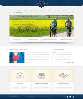 Cardiology Website Template