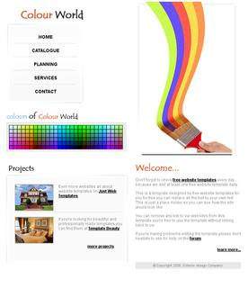 Colour World template