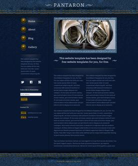 Denim Jeans Web Template