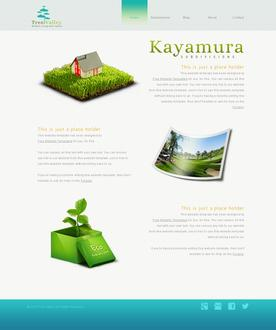 Eco Living Website Template