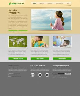 Ecological Website Template