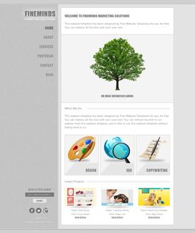 Marketing Web Template