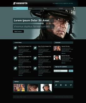 Firefighter Website Template