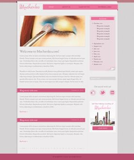 Makeup Website Template