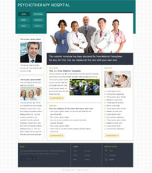 Medical Hospital Web Template