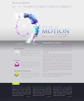 Motion Website Template