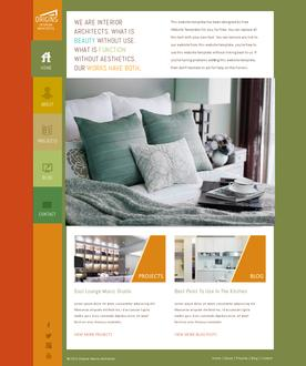 Interior Architect Web Template