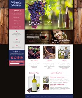 Winery Web Template