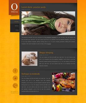 Personalized Web Template