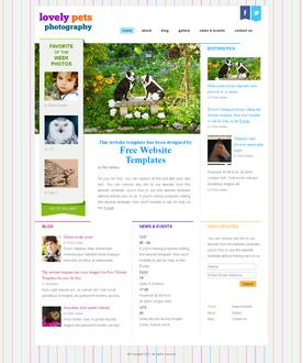Pets Photography Template