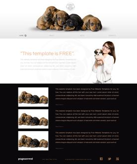 Puppy Website Template
