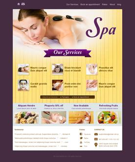 Spa Website Templates