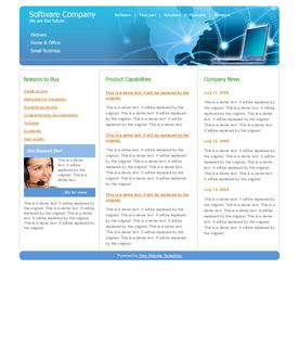 Software template