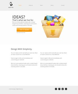 ZeroType Web Design